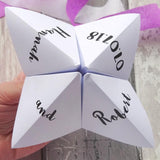 Wedding Cootie Catcher by Paperbuzz