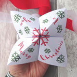 Christmas Table Game Fortune Tellers