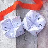 Party Ice-breaker Question Fortune Tellers