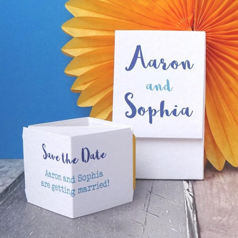 Your Names Save the Date Sample