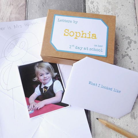 First Day at School / Starting School Gift Keepsake Letters