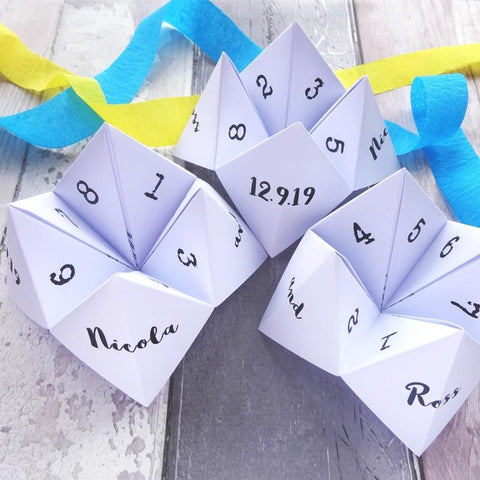 Wedding Selfie Dares Fortune Tellers by Paperbuzz
