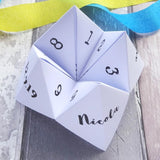 Wedding Cootie Catcher Game by Paperbuzz