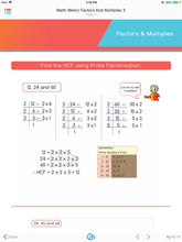 Math Werkz Factors and Multiples 3