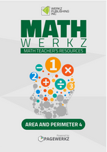 Math Werkz Area and Perimeter 4