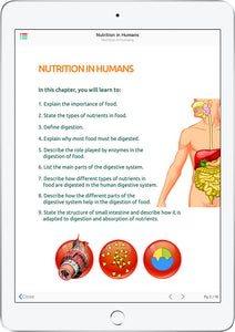ScienceWerkz® Nutrition in Humans