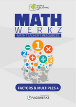 Math Werkz Factors and Multiples 4