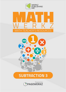 Math Werkz Subtraction 3