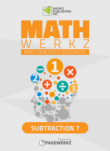 Math Werkz Subtraction 7
