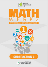 Math Werkz Subtraction 8