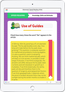 Brainsmart Speed Reading (Kids)