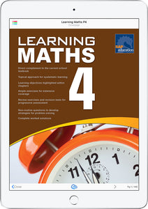 Learning Maths Book 4