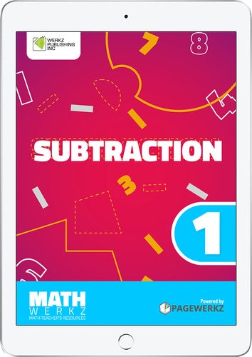 Math Werkz Subtraction 1