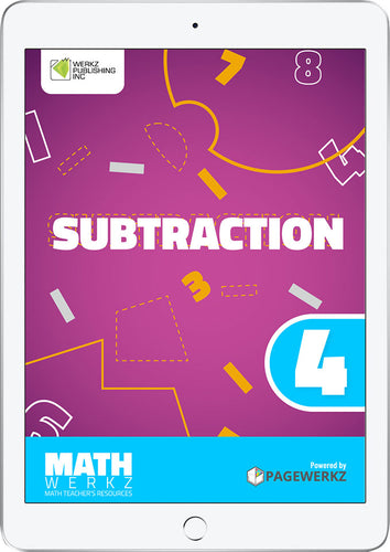 Math Werkz Subtraction 4