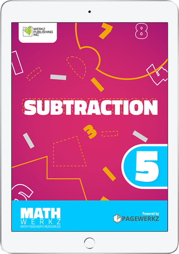 Math Werkz Subtraction 5