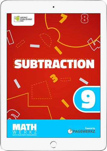 Math Werkz Subtraction 9
