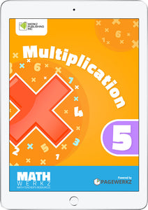 Math Werkz Multiplication 5