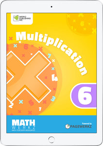 Math Werkz Multiplication 6