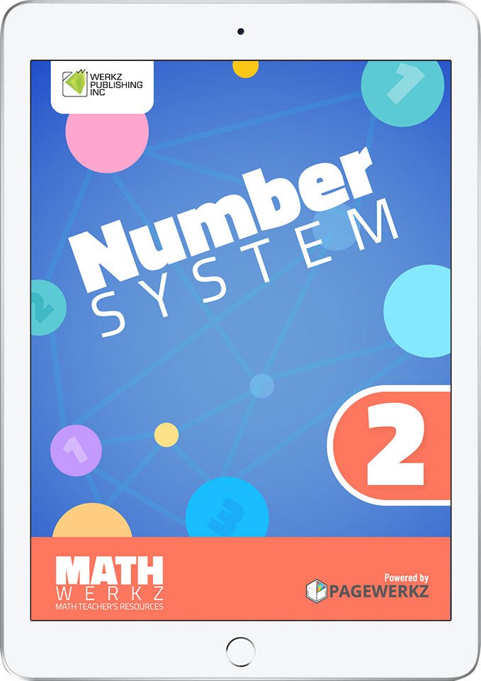 Math Werkz Number System 2