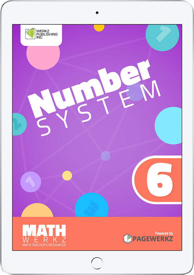 Math Werkz Number System 6