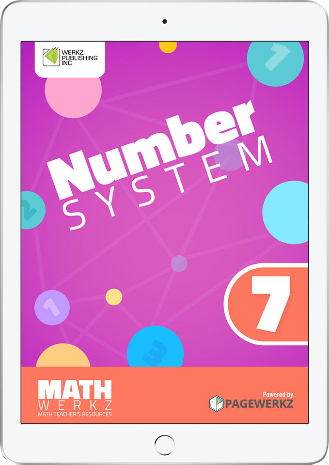 Math Werkz Number System 7