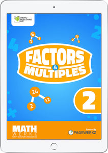 Math Werkz Factors and Multiples 2
