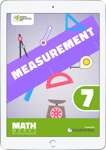 Math Werkz Measurement 7