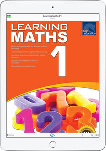 Learning Maths Book 1
