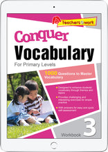 Conquer Vocabulary Primary Levels Workbook 3