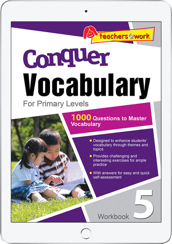 Conquer Vocabulary Primary Levels Workbook 5