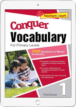 Conquer Vocabulary Primary Levels Workbook 1