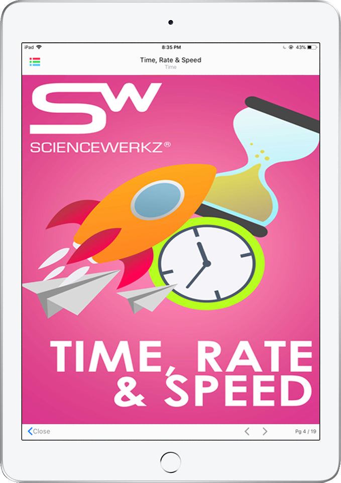 ScienceWerkz® Time, Rate and Speed