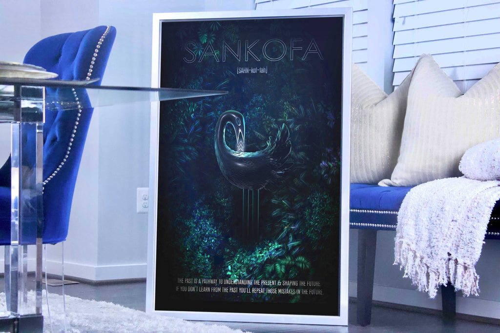 D.E.A.L.S. Sankofa Canvas Art