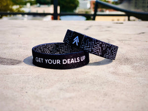 """Get Your DEALS Up"" Wristband"