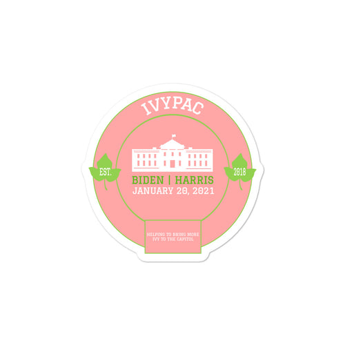 Inauguration 2021 Bubble-free stickers