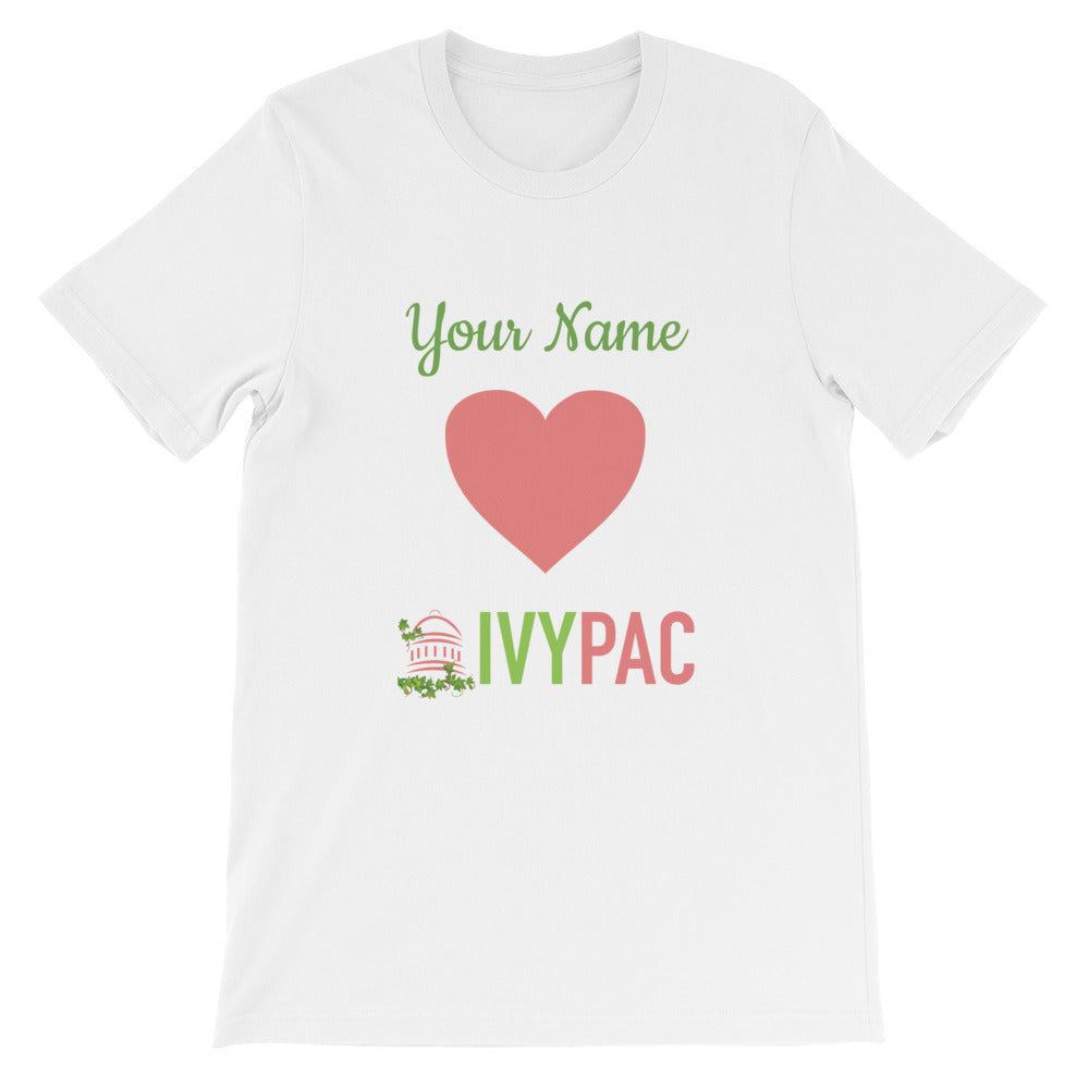 Personalized 💚 IVYPAC Unisex Short-Sleeve T-Shirt