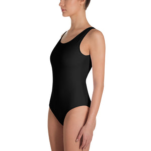 When They Go Low, We Vote™ One-Piece Swimsuit