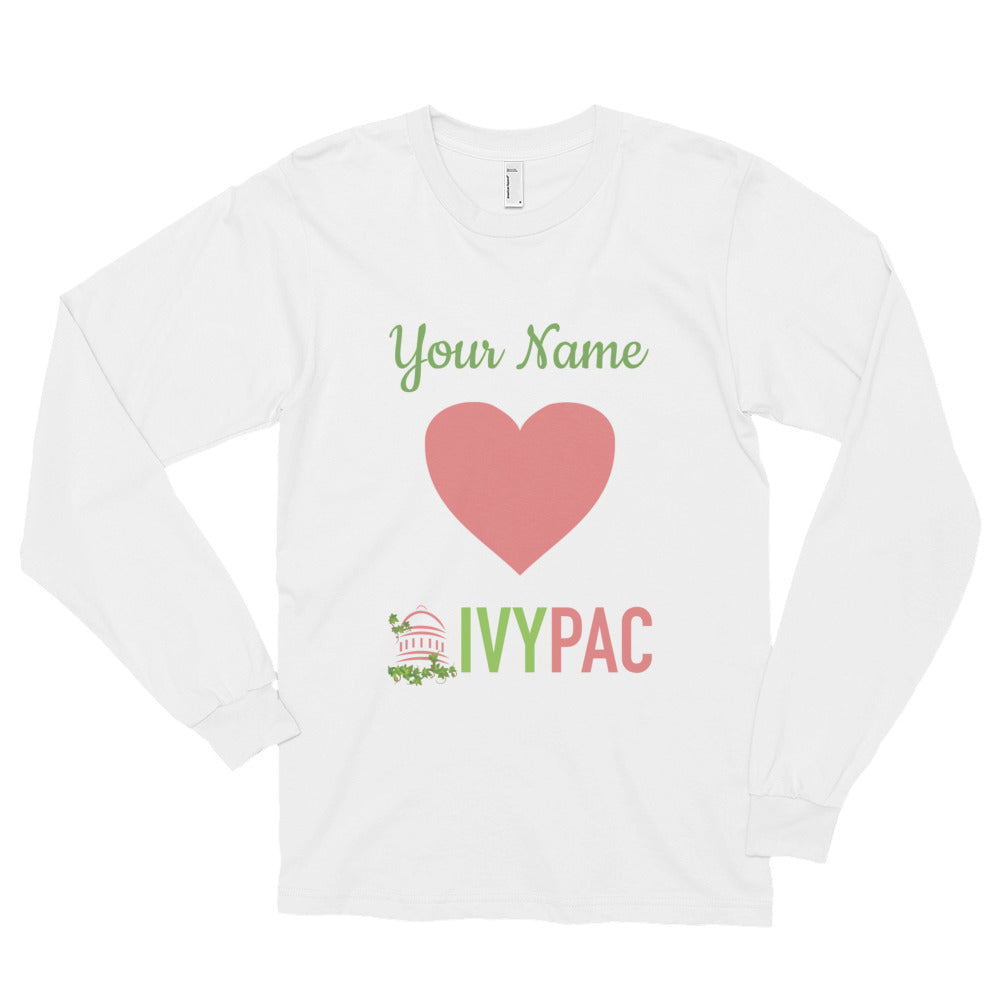 Personalized 💚 IVYPAC Unisex Long sleeve t-shirt