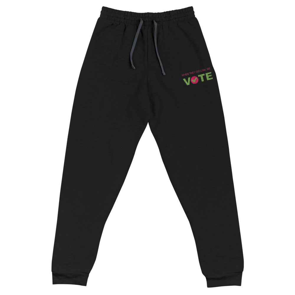 When They Go Low, We Vote™ Unisex Sweat Pants