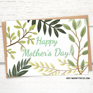 Mother's Day Branches Card 3-Pack+