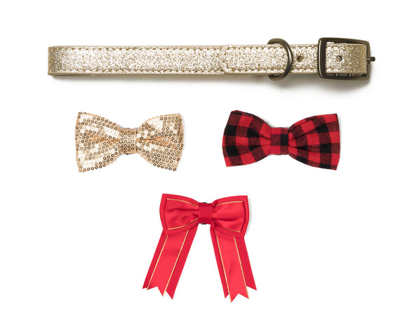 Foshay - Gold & Red Bow Collection
