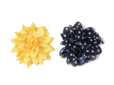Flower Collection - Yellow & Blue