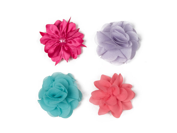Flower Collection - Four Petite Blooms