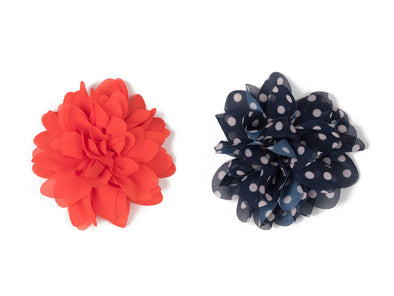 Flower Collection - Red & Blue