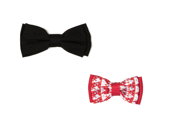 Bow Collection - Black & Red