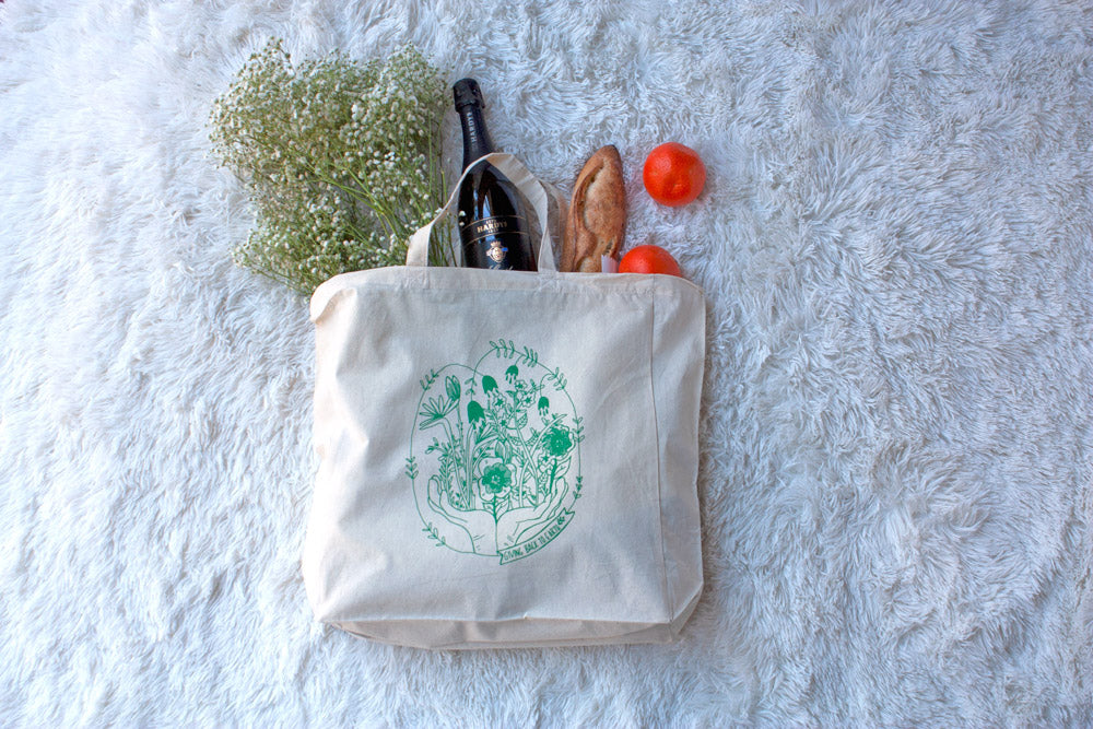 Giving Back to Earth Shopping Tote - Kathy Gardiner