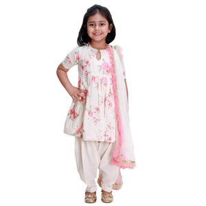 Embroidered Floral Salwar Kurta