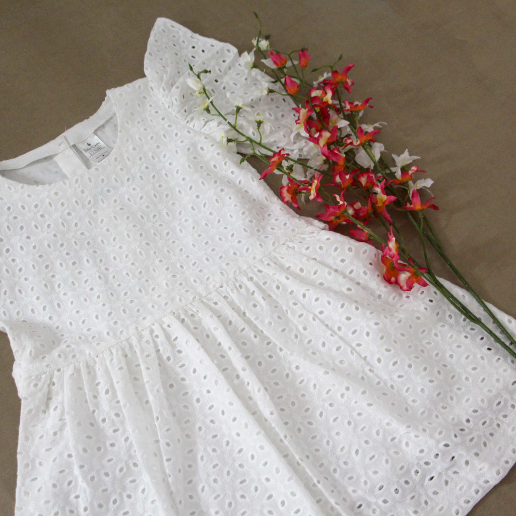 ——SOLD OUT——White Hakoba Frock