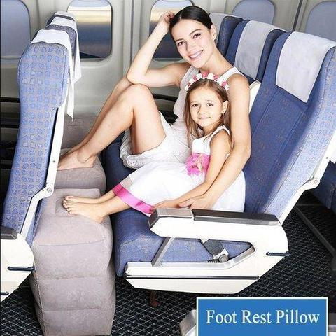Inflatable Travel Footrest Pillow - Activarebel.com
