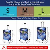 Travel Luggage Suitcase Protective Cover - Market Hoop